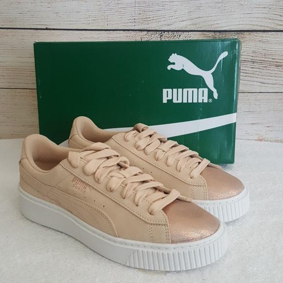 Puma Shoes   New Puma Lunalux Suede